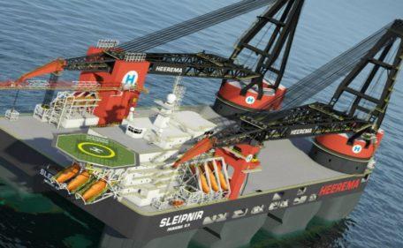 Sleipnir  - kraanschip